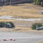 """Bell OH-13H Sioux c/n 1883 serial ES737 preserved as """"ES722"""" & Cessna U-17A c/n 185-1756 serial ES321 Greece Army"""
