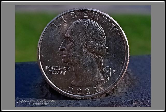 MONEDA DE 25 CENTAVOS. UNITED STATES 25 CENT COIN.