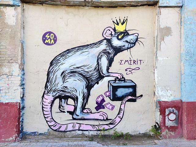 street art Valencia (Cabanyal)