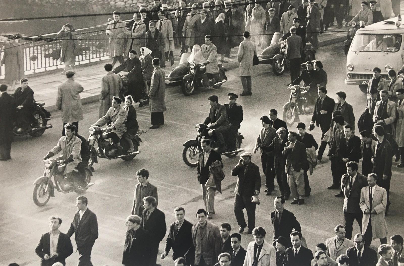 1960. Вильнюс. После футбольного матча