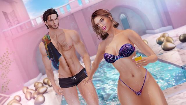 My Korner #699 - Pool Party!