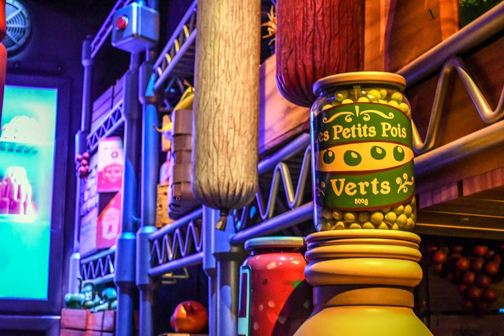 Remy's Ratatouille Adventure storage Epcot France