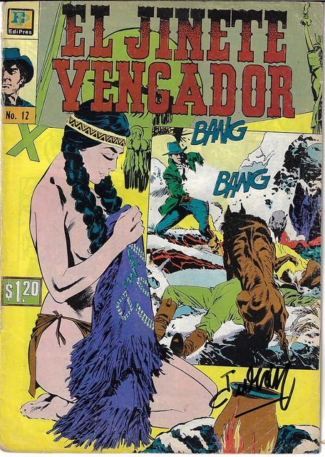 El Jinete Vengador #12