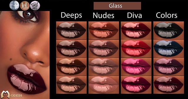 Modish Glass-lips-@ WIP event