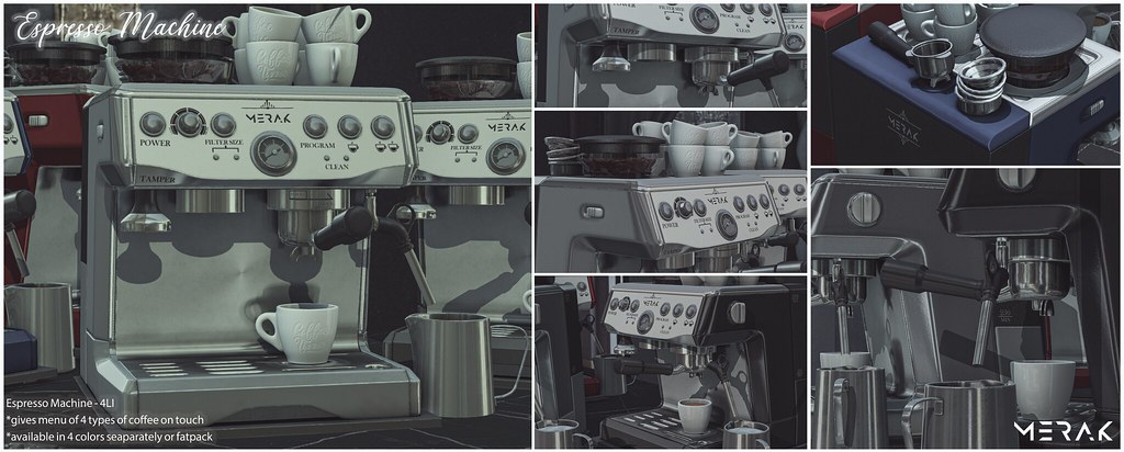Espresso Machine for FaMESHed