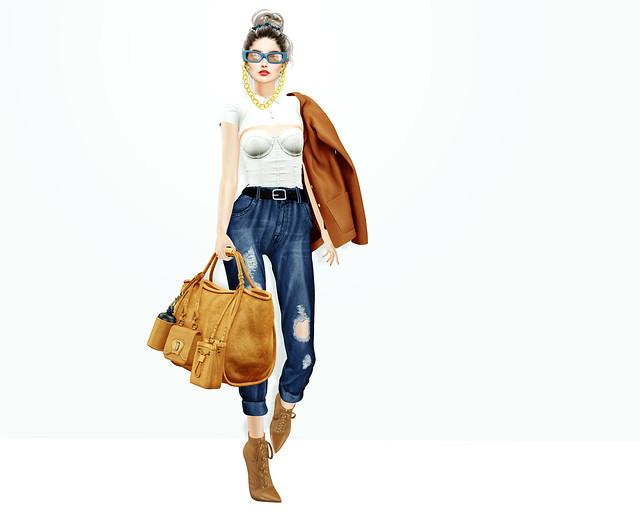 DeuxLooks - (not) mom jeans