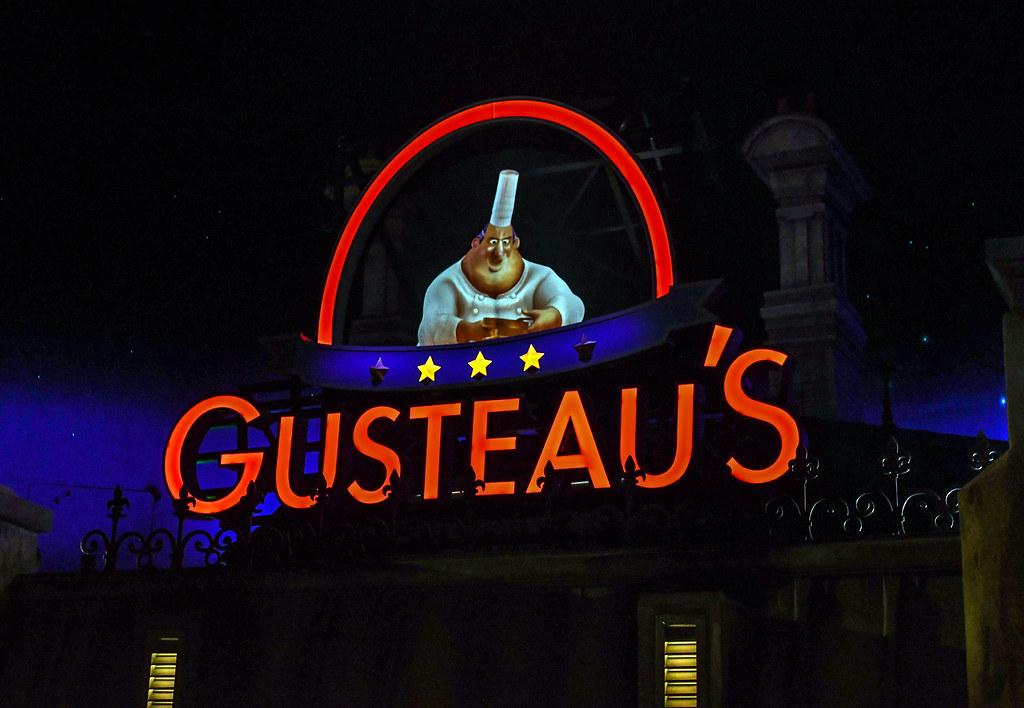 Remy's Ratatouille Adventure Gusteau's Epcot France