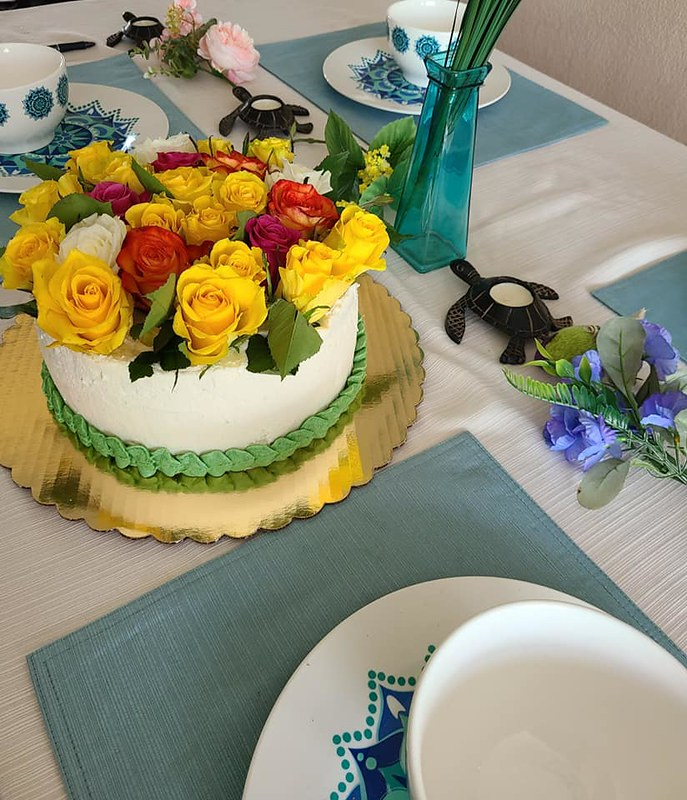 Cake by B's Baked Bouquets