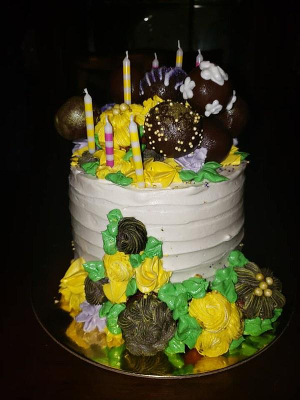 Cake by Bianca's B.tchin Bakery
