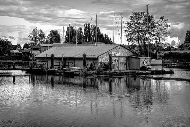 Boat Shed - (Deas Slough) South Arm Fraser River