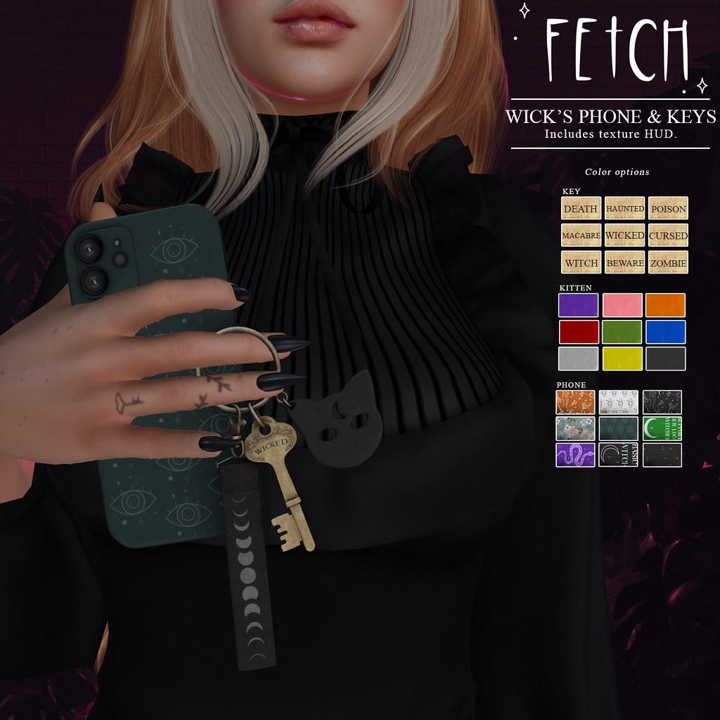 [Fetch] Wick's Phone & Keys @ Salem!
