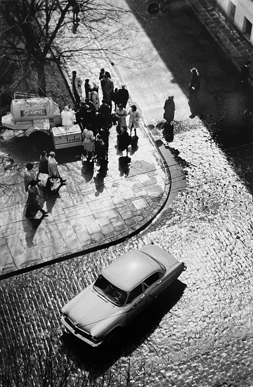 1960. Вильнюс. Раннее весеннее утро