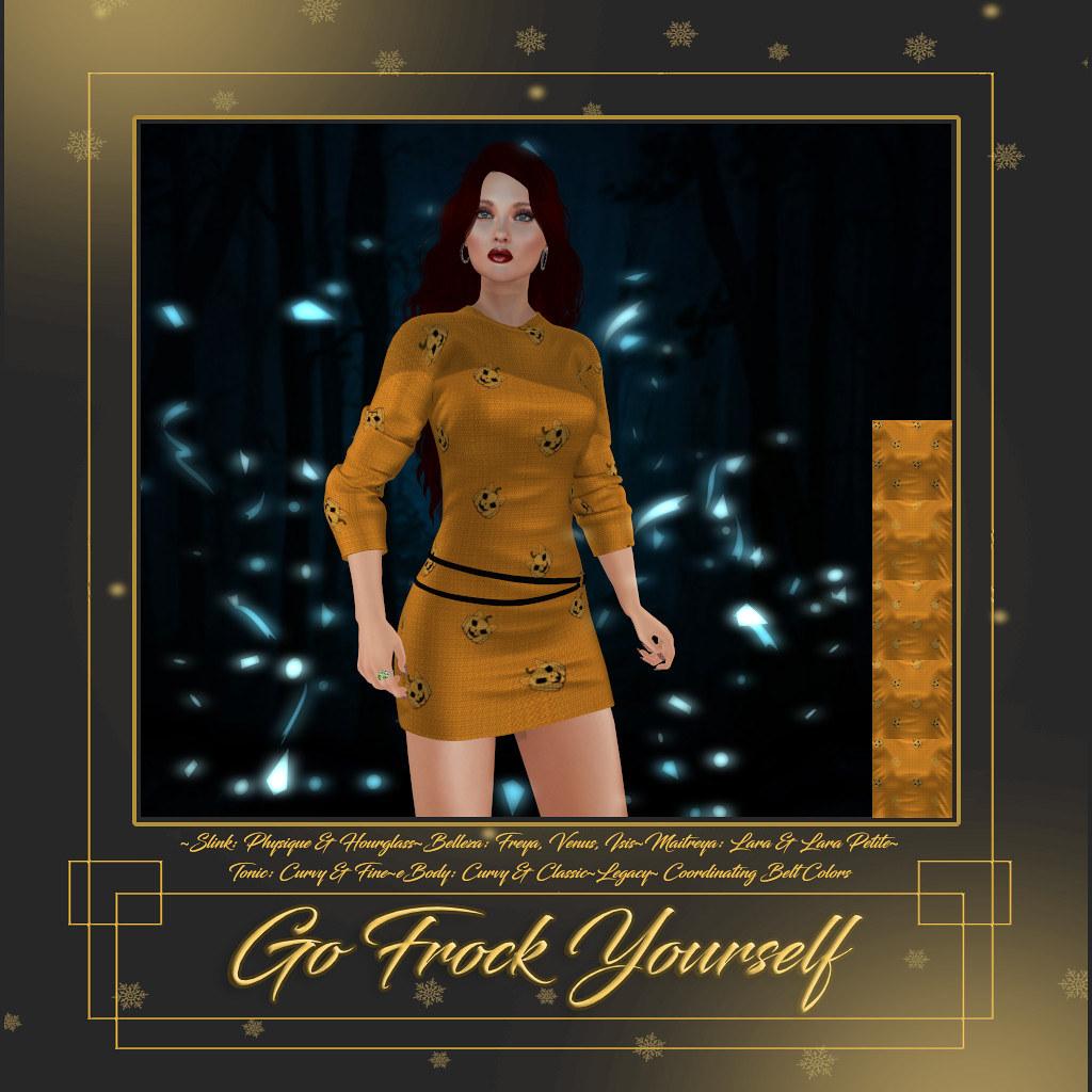 GFY-Pumpkin Kitty Pumpkin Dress
