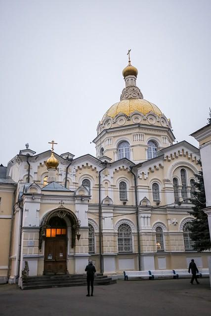 03 октября 2021, Митрополит Кирилл совершил всенощное бдение в Андреевском соборе города Ставрополя