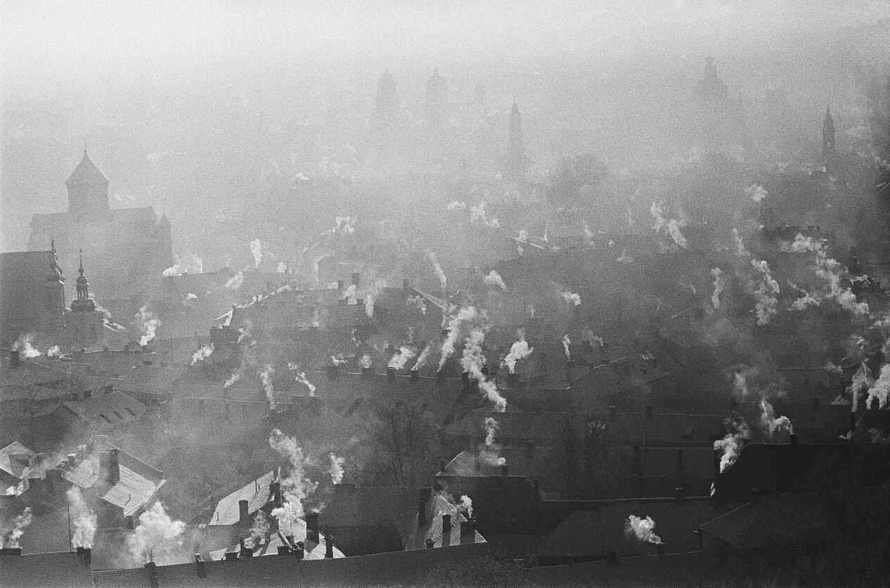 1959. Вильнюсские крыши