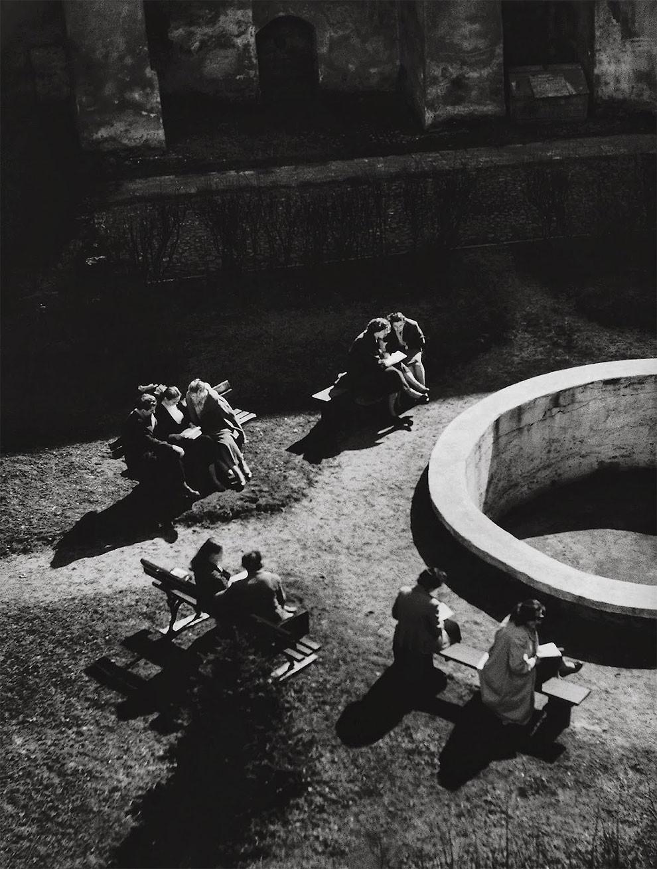 1959. Вильнюс. Университет. Двор Сарбиевиуса