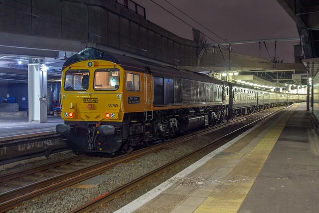 GBRf 66769 London Euston