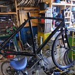 This Specialized is going for the completely stealth look