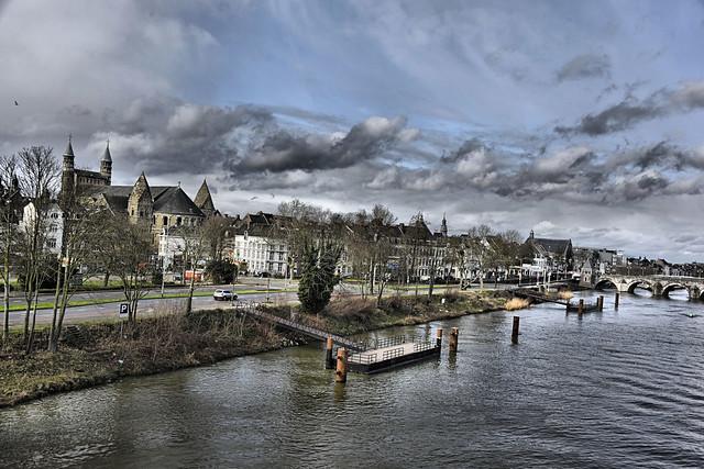 River Maas.