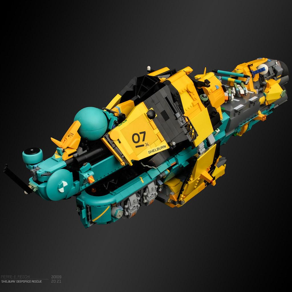 LEGO deepspace rescue craft