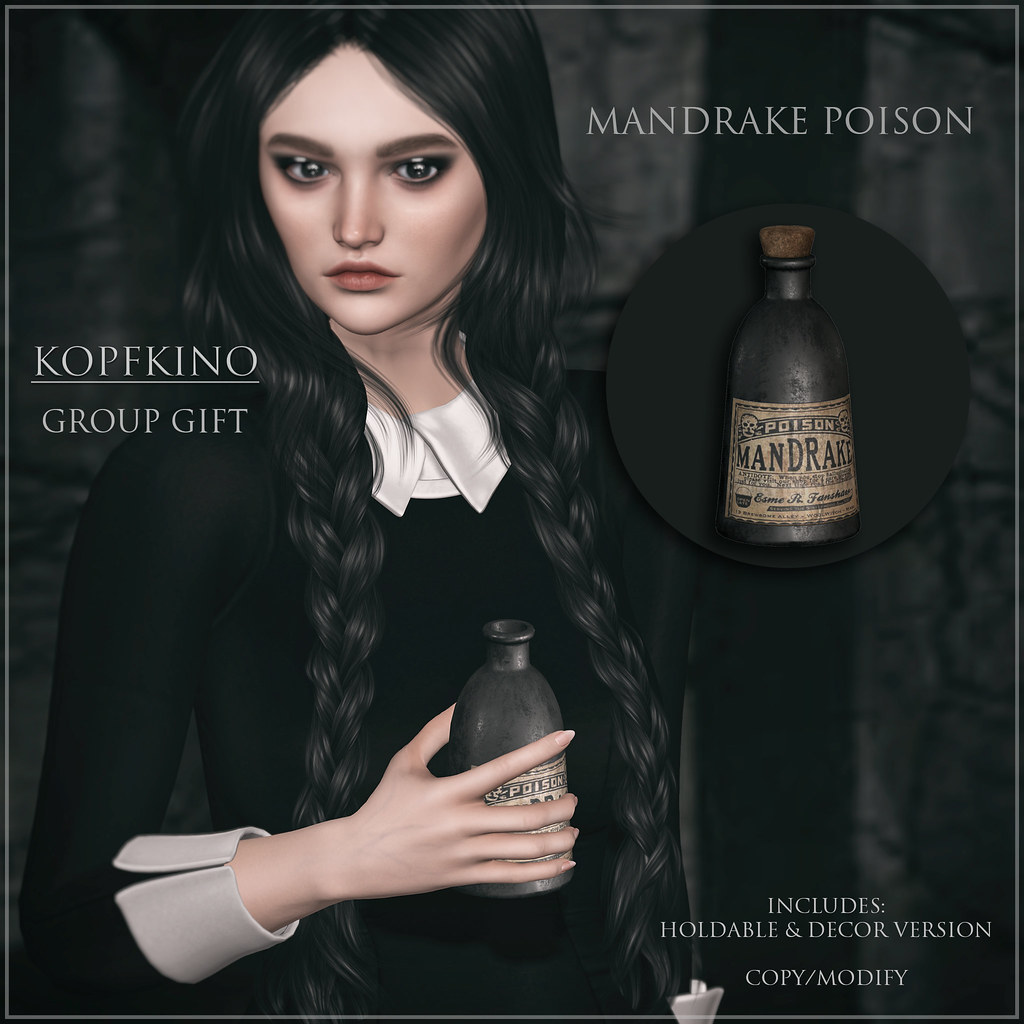 NEW Group Gift – KOPFKINO – Mandrake Poison