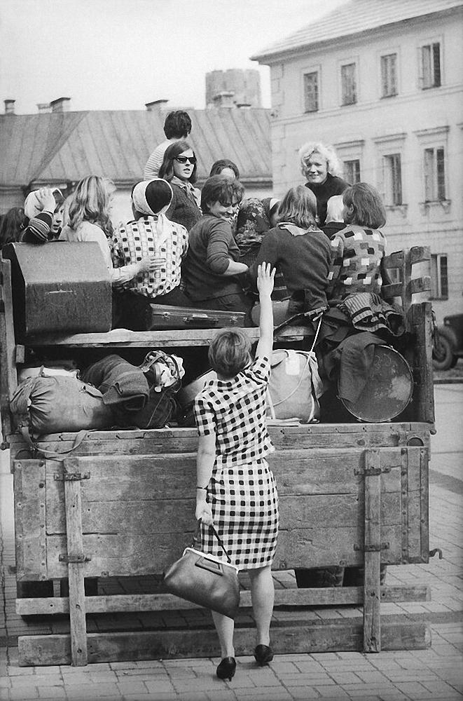 1959. Вильнюс. Университет. Студенческое лето