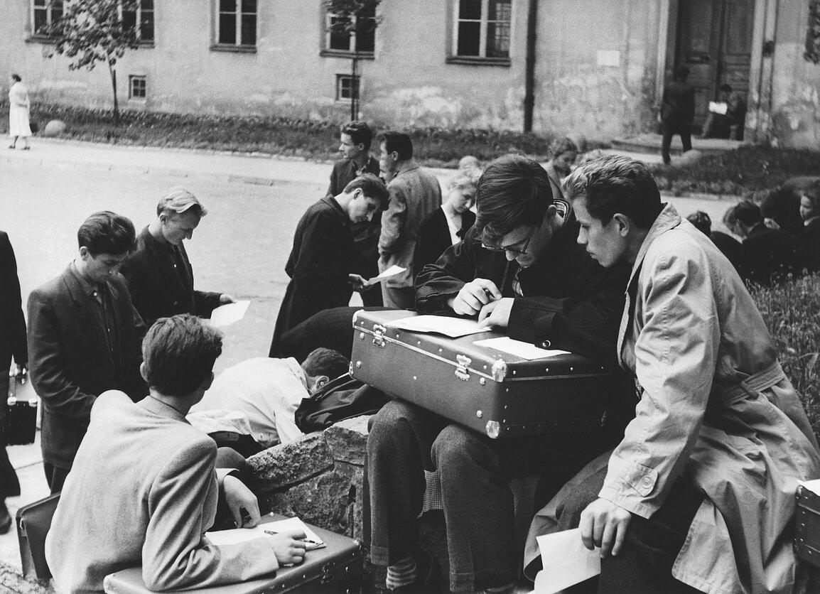 1959. Вильнюс Университет. Допуск