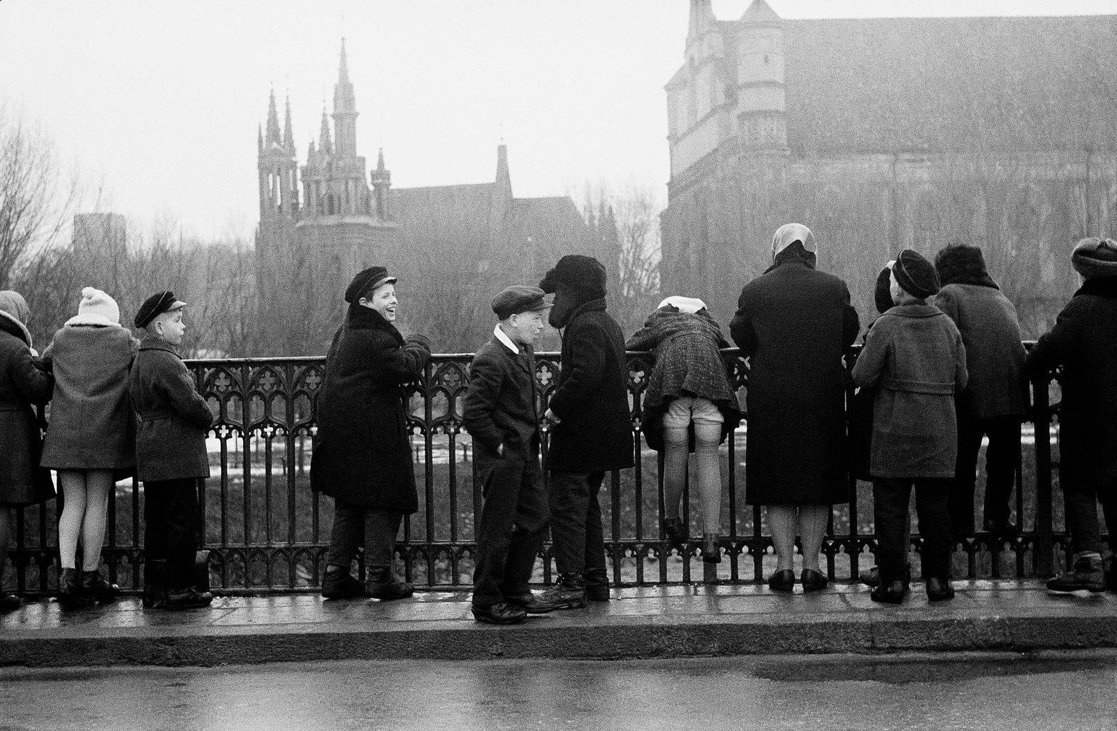 1959. Вильнюс. Учащиеся ужупийской гимназии