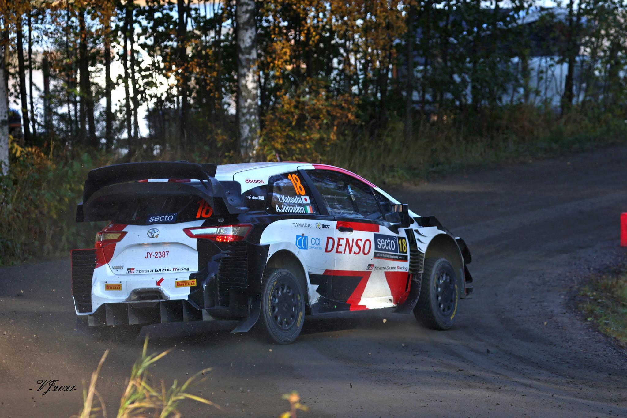 Takamoto Katsuta, Toyota Yaris WRC