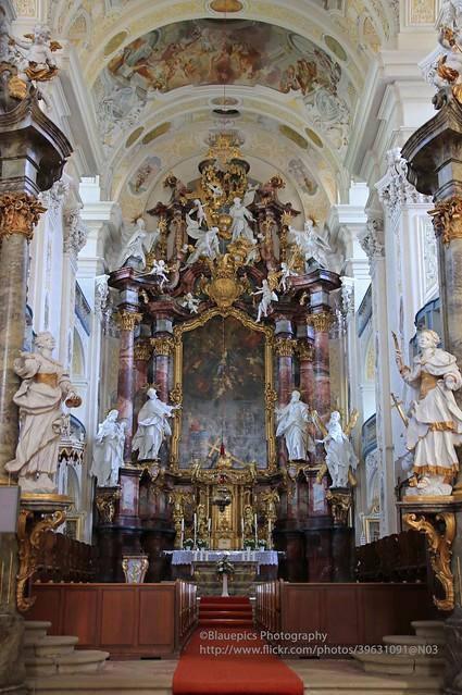 Schöntal, Schöntal abbey, altar