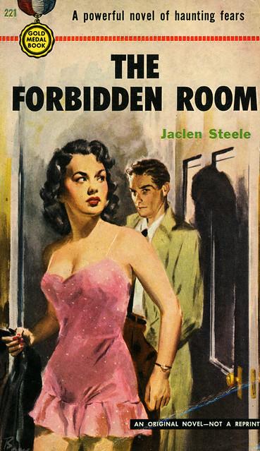 Gold Medal Books 221 - Jaclen Steele - The Forbidden Room
