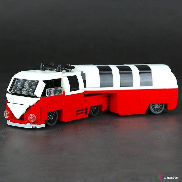 volkswagen T1 brick moc