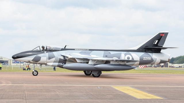 Hawker Hunter F58A, ZZ191