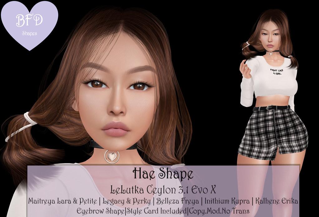 {BFD} Shapes – Hae Shape – LeLutka Ceylon 3.1 AD
