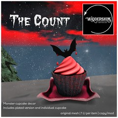 Widdershins - Monster Cupcakes [The Count] Free Gift!