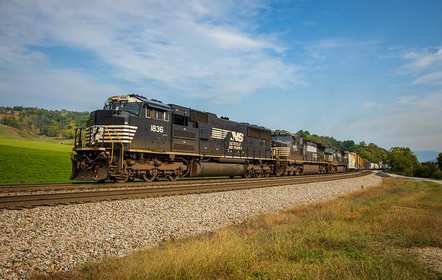 NS 11Z. Shawsville, Virginia