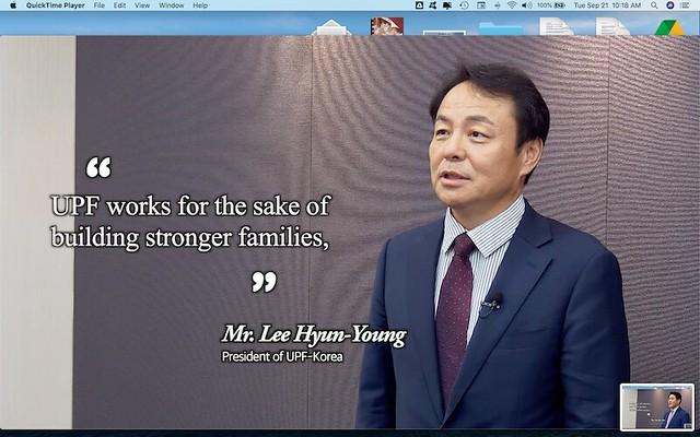 Korea-2021-09-17-International Day of Peace Observed in Korea