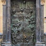 Ljubljana Cathedral Door