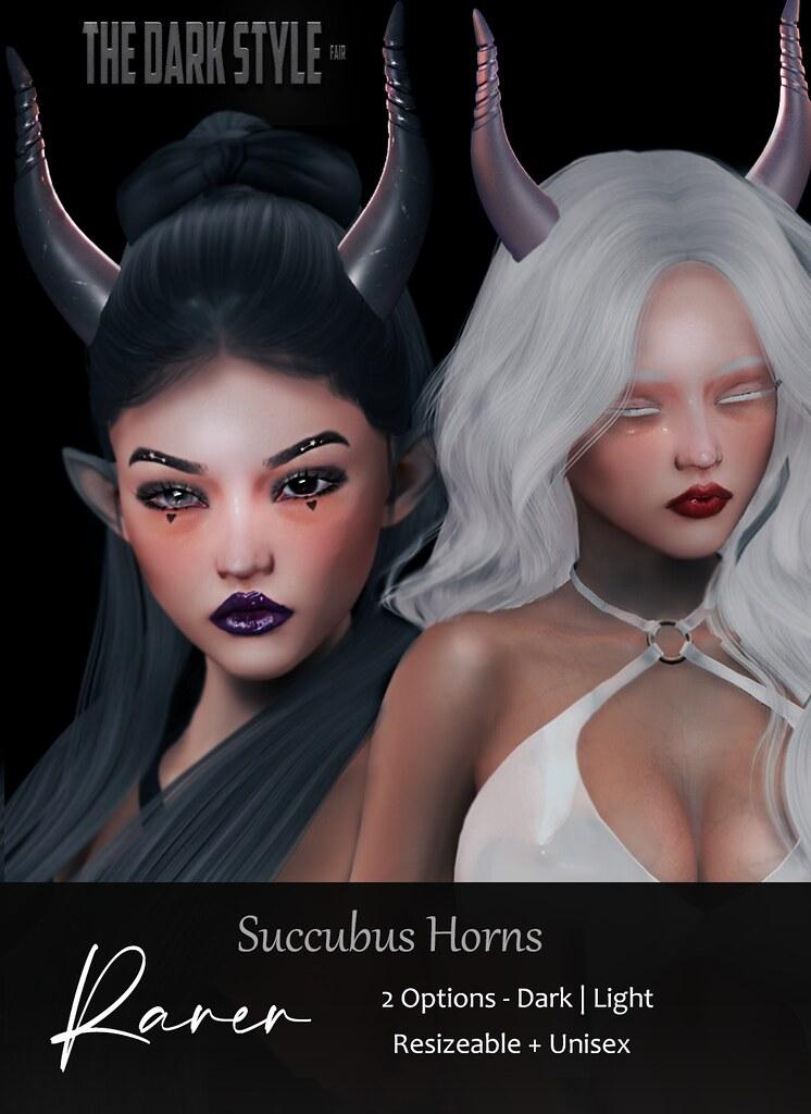 Succubus Horns @ The Dark Style Fair