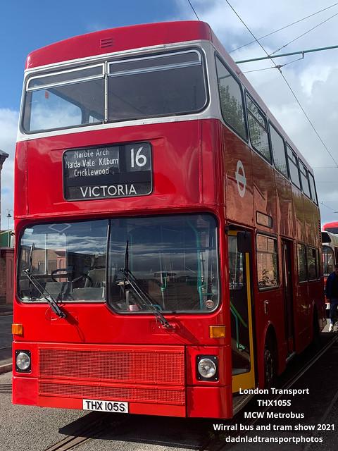 THX105S  - MCW Metrobus
