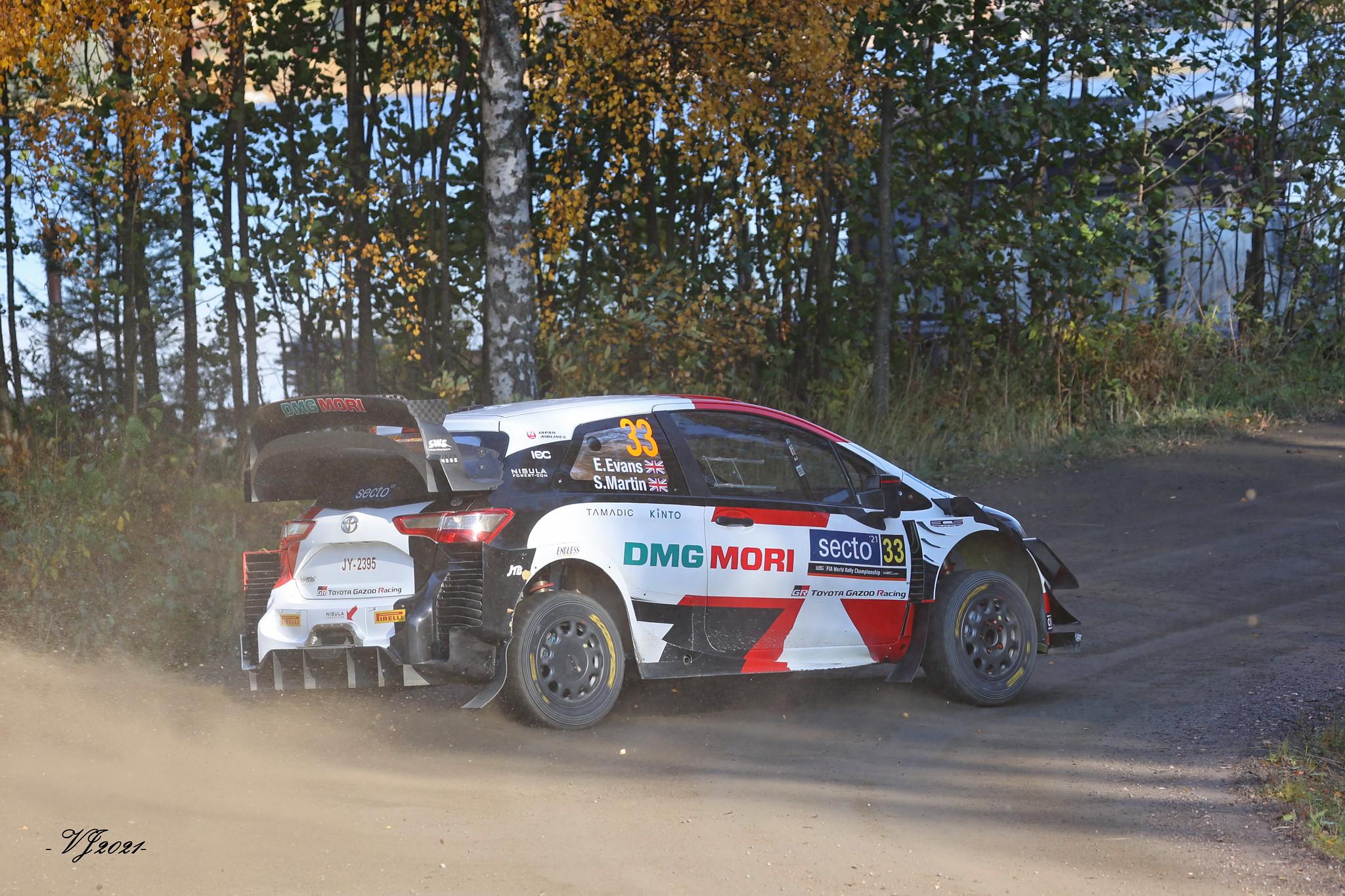 Elfyn Evans, Toyota Yaris WRC