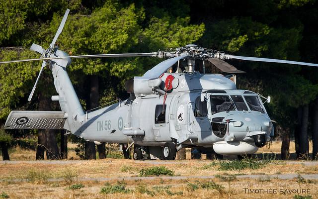 AFW21 | Hellenic Navy Sikorsky S-70B Aegean Hawk | ΠN 56