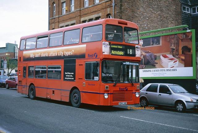 First Manchester 5314 (D314 LNB)