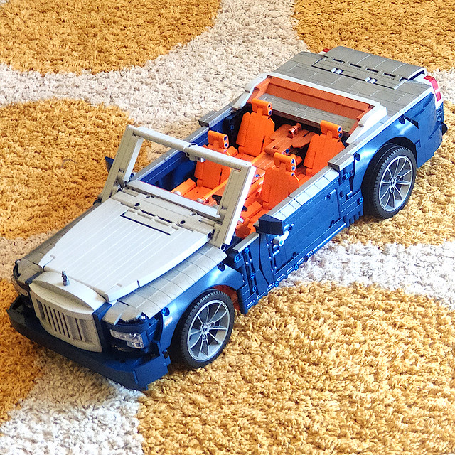 Work is done (MOYU BLOCK MY88003) - very nice car body, motorized, detailed. Video coming soon.