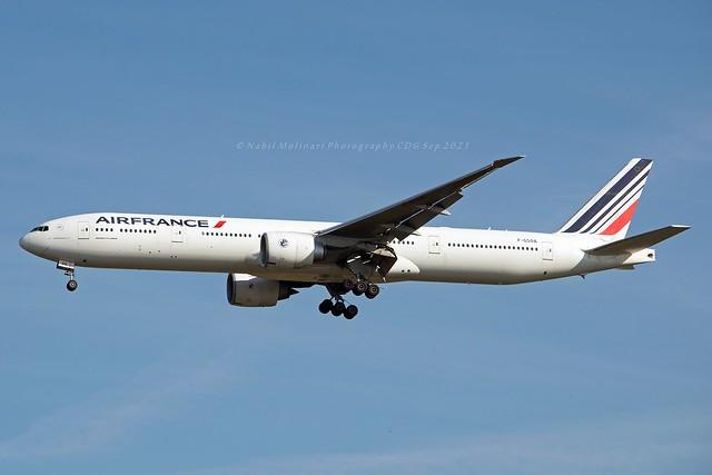Air France F-GSQA Boeing 777-328ER cn/32723-466 @ LFPG / CDG 23-09-2021