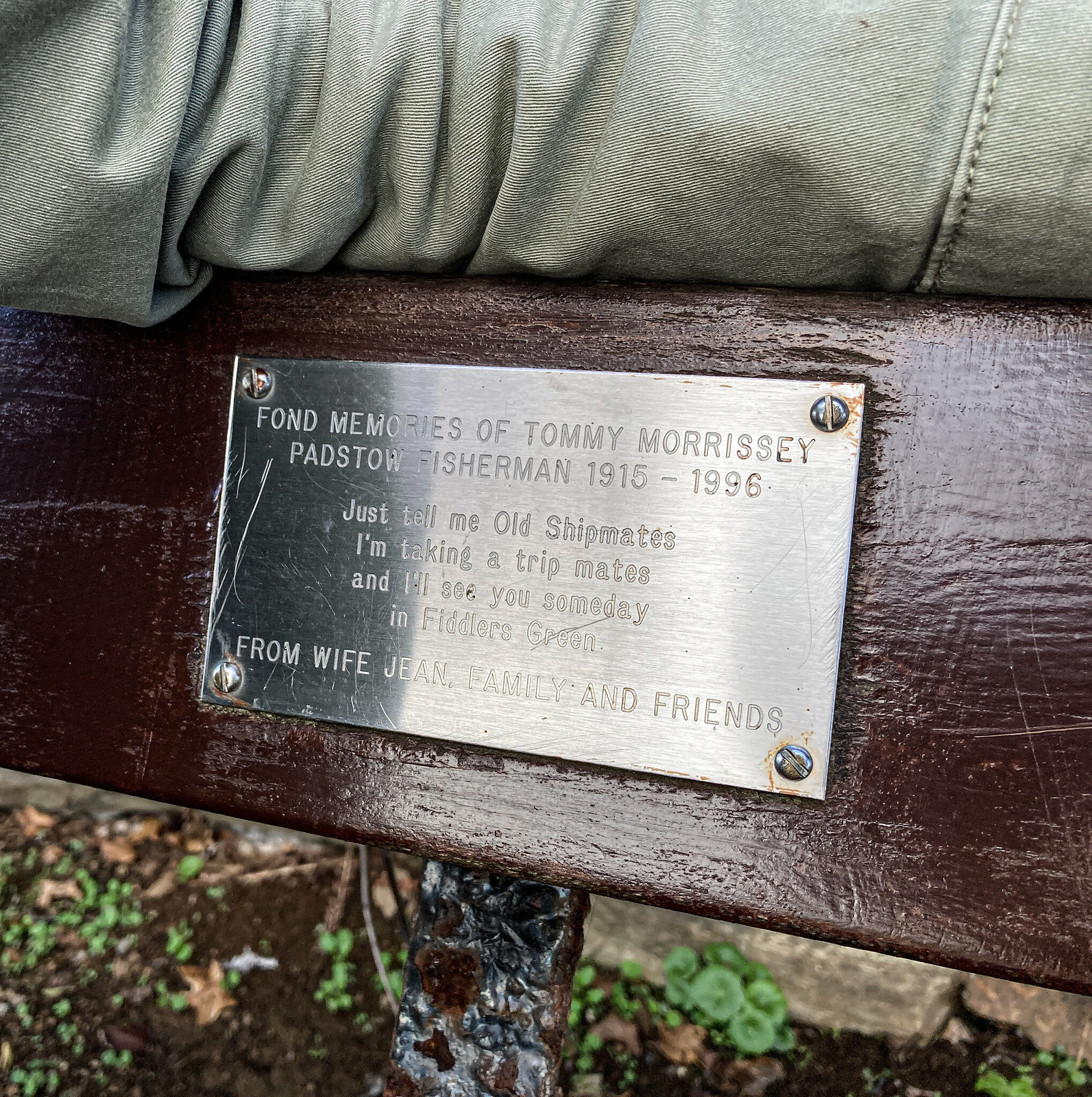 Tommy's Bench