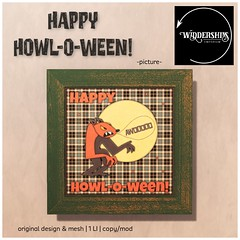 Widdershins - Happy Howl-o-ween -picture- 2L Hunt Prize
