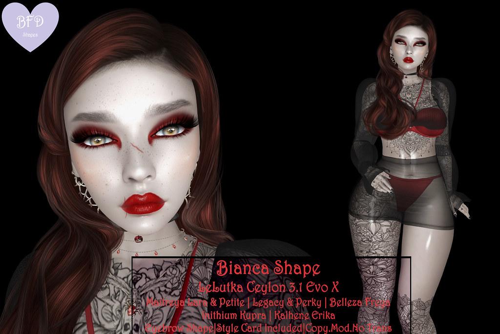 {BFD} Shapes – Bianca Shape – LeLutka Ceylon 3.1 EvoX