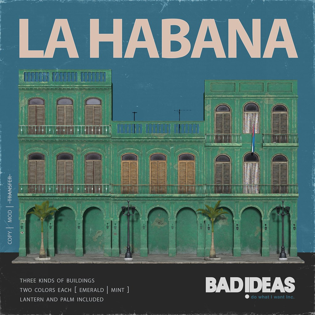 ' BAD IDEAS ' La Habana Emerald & Mint