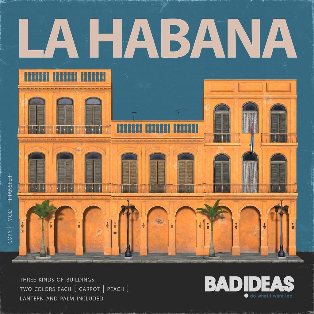 ' BAD IDEAS ' La Habana Carrot & Peach
